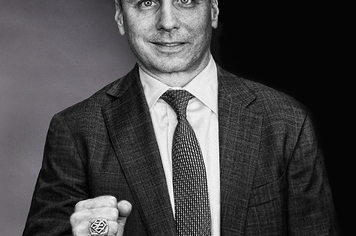Brilliant Black And White Portrait: Brian Cashman 2
